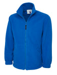 Uneek Classic Full Zip Fleece Jacket Royal Blue UC604