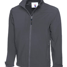 Uneek Premium Full Zip Soft Shell Jacket Light Grey - UC611