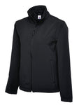 Uneek Classic Full Zip Soft Shell Jacket Black UC612