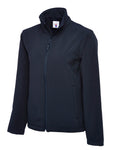 Uneek Classic Full Zip Soft Shell Jacket Navy UC612