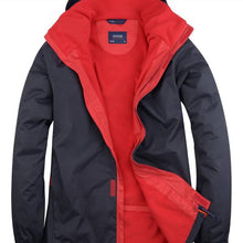Uneek Deluxe Outdoor Jacket Navy Red UC621
