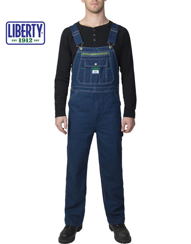 Liberty® Denim Bib: MENS BIB OVERALLS - DENIM: 18006DB9