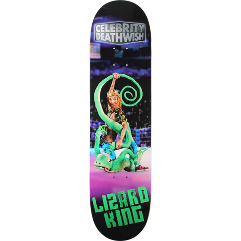 DW LIZ-KING CELEBRITY DEATHWISH Deck 8.0
