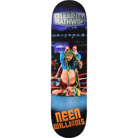 DW WILLIAMS CELEBRITY DEATHWISH Deck 8.25