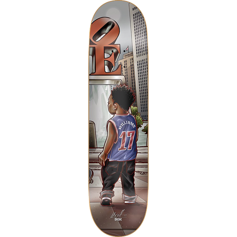 DGK WILLIAMS LIL' DGK Deck 8.25