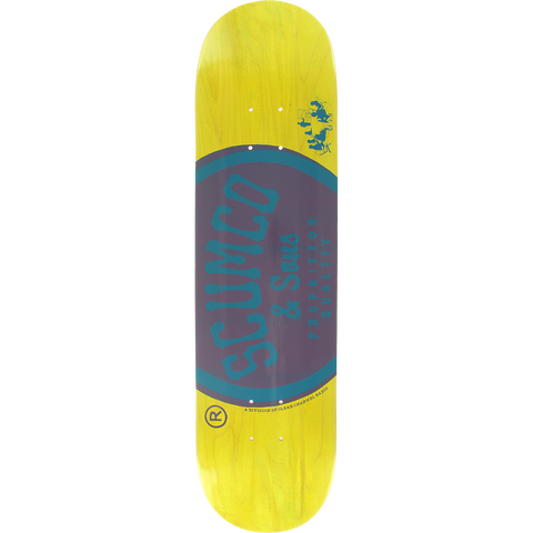 SCUMCO LOGO BOARD Deck 8.0 ASSORTED