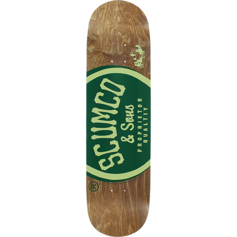 SCUMCO LOGO BOARD Deck 8.5 ASSORTED