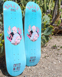 Silly Girl Skateboards - Patti McGee 'Cactus McGee' Signature Pro Deck