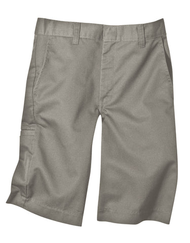 Dickies Boys Short W/Extra Pocket (Sizes 8 - 20): BOYS SHORTS - SILVER: 42562SV