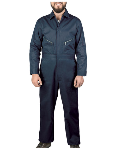 Walls Taylor Work Twill Coverall: MENS COVERALLS - NAVY: 5515NA9