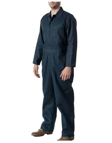 Walls Tatum Work Coverall: MENS COVERALLS - NAVY: 63070NA9