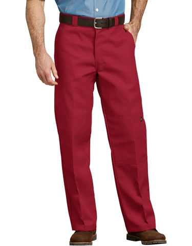 Dickies Double Knee Work Pant: English Red - 85283ER