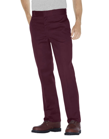 Dickies Original Fit 874 Trade; Work Pant: Maroon - 874MR