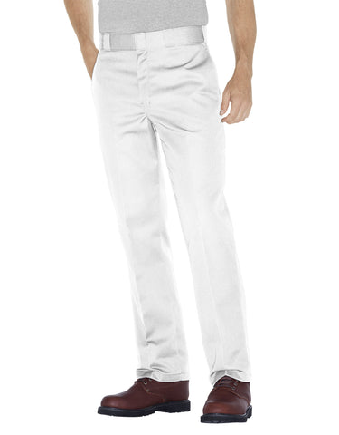 Dickies Original Fit 874 Trade; Work Pant: White - 874WH