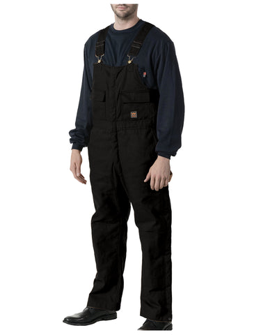 Keller Zero-Zone™ Insulated Bib: MENS BIB OVERALLS - MIDNIGHT BLACK: 93053MK9