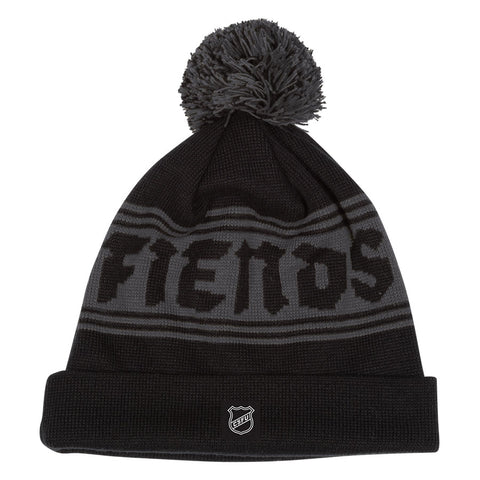 Creature Fiendshot Beanie Hat Black/Grey 44441747