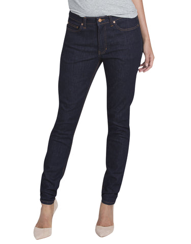 Dickies Womens Skinny Denim Jean: WOMENS JEANS - RINSED INDIGO BLUE: FD145RNB