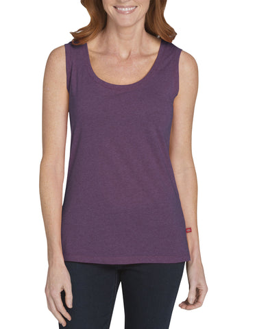 Dickies Womens Scoop Neck Tank: WOMENS TOPS - CANYON SUNSET (SINGLE DYE): FS097CSD