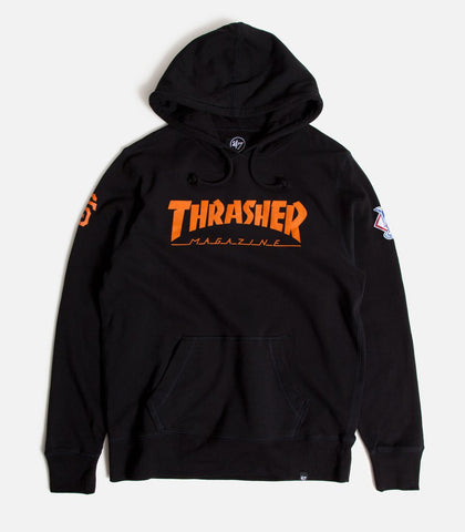 Thrasher Magazine X 47 Brand San Francisco Giants Striker Pullover Hoodie