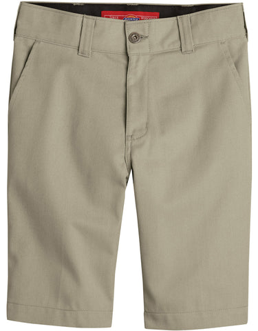 Dickies Boys Slim Fit Flex Short: BOYS SHORTS - DESERT SAND: KR894DS