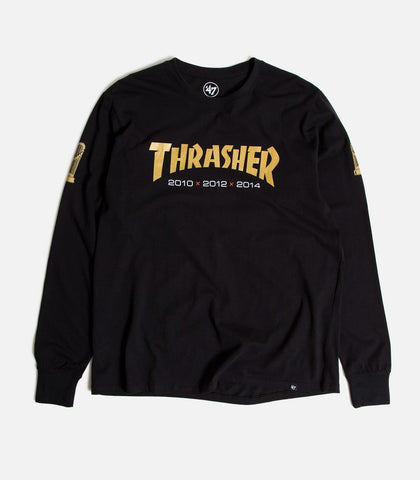 Thrasher Magazine X 47 Brand San Francisco Giants Rival Long Sleeve T-Shirt