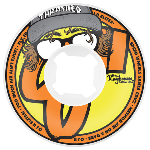 OJ Wheels Raybourn 54mm Insaneathane 101a OJ Skateboard Wheels