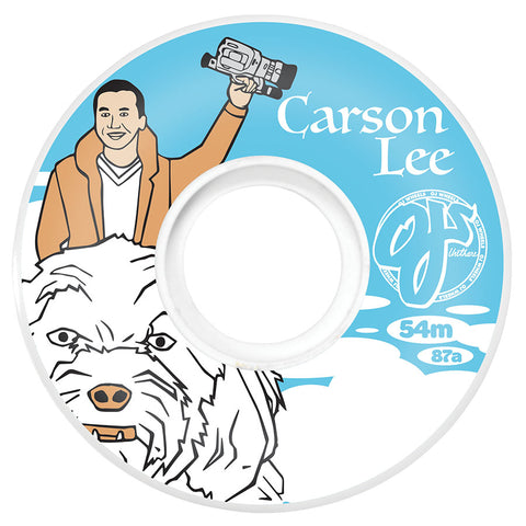 OJ Wheels Carson Lee 54mm Keyframe 87a OJ Skateboard Wheels