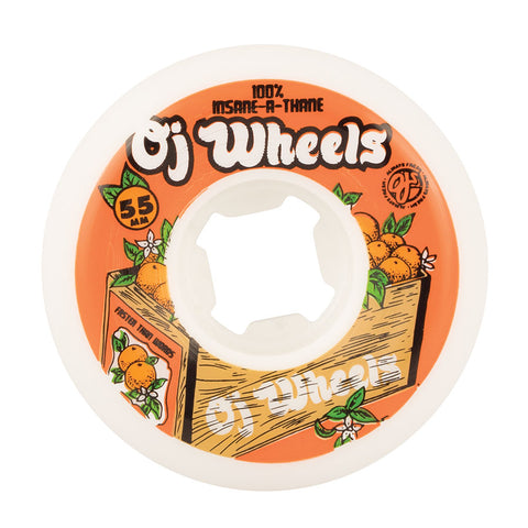 OJ Wheels Orange Box 55mm Insaneathane 99a OJ Skateboard Wheels
