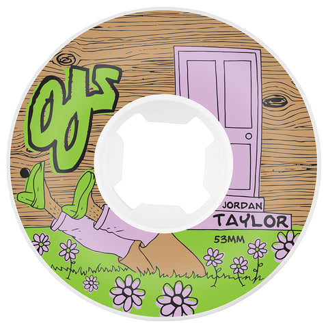 OJ Wheels Taylor Shorts Over Pants 53mm Original 101a OJ Skateboard Wheels