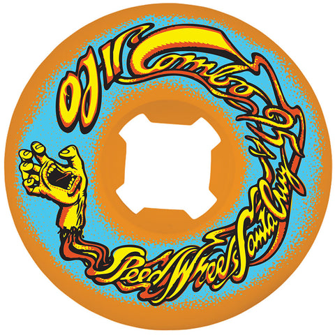 OJ Wheels OJ II 56mm Mini Combos 95a OJ Skateboard Wheels - Orange