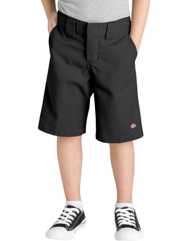 Dickies Boys Multi-Use Pocket Short: BOYS SHORTS - BLACK: QR3200BK
