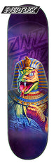 Santa Cruz 8.25in x 31.8in The Worst Snake Tut Everslick Skateboard Deck
