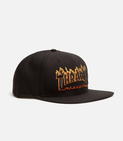 Thrasher Magazine X San Francisco Giants Flame Captain Hat