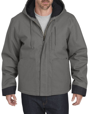 Dickies Sanded Duck Flex Mobility Jacket: MENS JACKETS - SLATE: TJ376SL