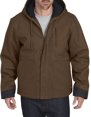 Dickies Sanded Duck Flex Mobility Jacket: MENS JACKETS - TIMBER BROWN: TJ376TB