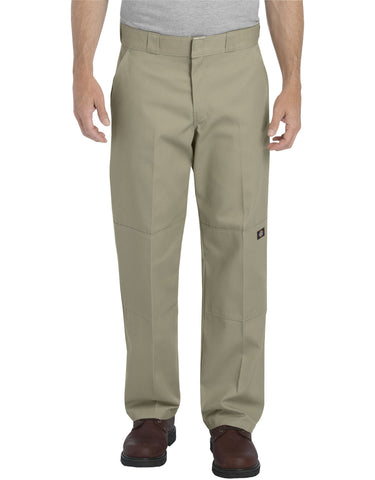 Dickies Relaxed Straight Fit Double Knee Work Pant: Desert Sand - WP852DS