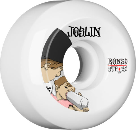 Bones Wheels STF Pro Joslin London 51mm 103a V5 Skateboard Wheels 4pk