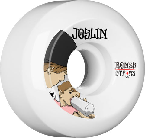 Bones Wheels STF Pro Joslin London 53mm 103a V5 Skateboard Wheels 4pk