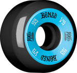 Bones Wheels 100's 53mm 100a V5 Skateboard Wheels 4pk - Black
