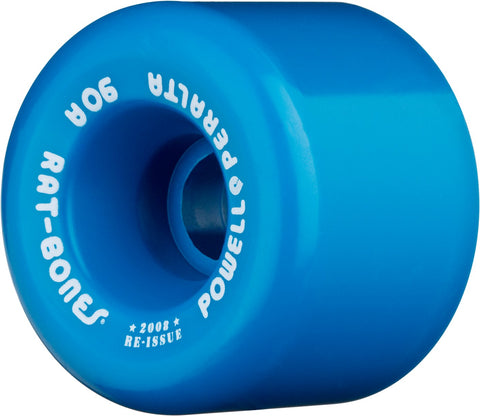 Powell Peralta Wheels Rat Bones 60mm 90a Skateboard Wheels 4pk - Blue