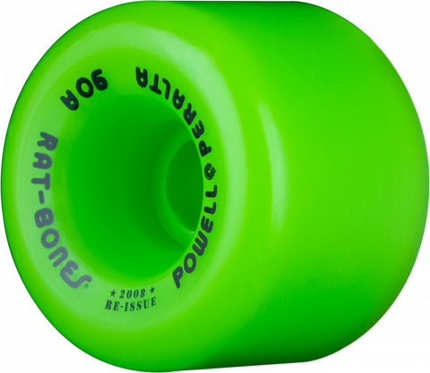 Powell Peralta Wheels Rat Bones 60mm 90a Skateboard Wheels 4pk - Green