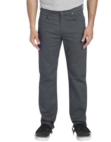 Dickies 5-Pocket Pant: Rinsed Charcoal - XD831RCH