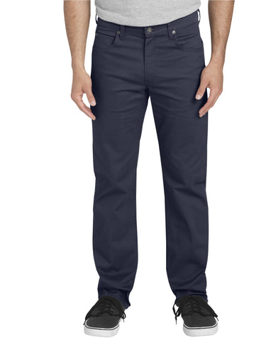Dickies 5-Pocket Pant: Rinsed Dark Navy - XD831RDN