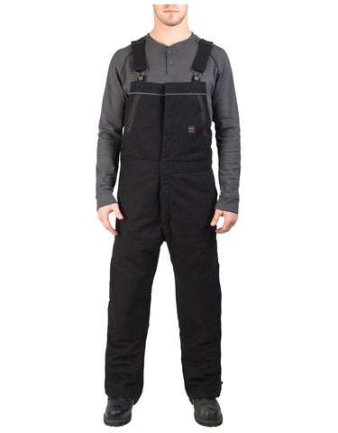Walls Frost Super Duck Insulated Bib Overalls: MENS BIB OVERALLS - MIDNIGHT BLACK: YB717MK9