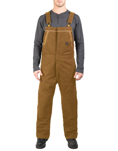 Walls Frost Super Duck Insulated Bib Overalls: MENS BIB OVERALLS - PECAN: YB717PC9