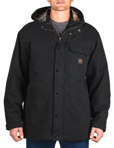 Walls Hooded Parka With Kevlar: MENS COATS - MIDNIGHT BLACK: YJ336MK9
