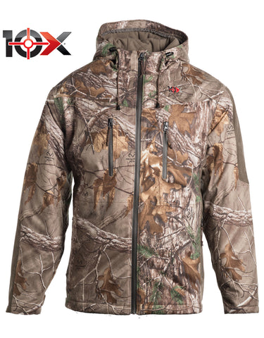 10X Silent Quest Insulated Parka With Scentrex: MENS JACKETS - REAL TREE XTRA: ZJ751AX9