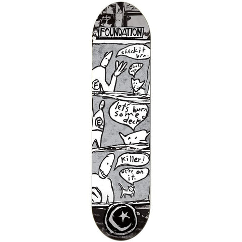 Foundation Burner 8.125 Team Deck