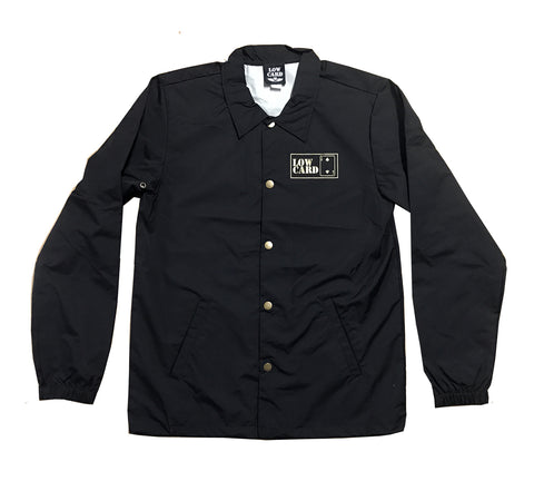 Lowcard Mag Mens Gold Club Coach Jacket
