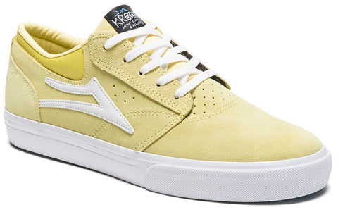 Lakai Krooked Griffin Skate Shoes - Dusty Yellow